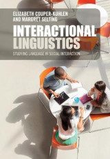 Omslag - Interactional Linguistics