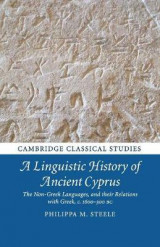 Omslag - A Linguistic History of Ancient Cyprus