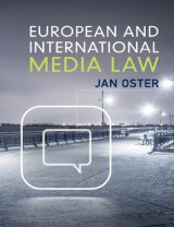 Omslag - European and International Media Law
