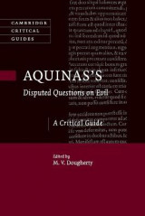 Omslag - Aquinas's Disputed Questions on Evil