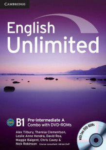 English Unlimited Pre-intermediate A Combo with DVD-ROMs (2) av Alex Tilbury, Theresa Clementson, Leslie Anne Hendra, David Rea, Maggie Baigent, Chris Cavey og Nick Robinson (Blandet mediaprodukt)