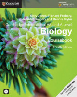Omslag - Cambridge International AS and A Level Biology Coursebook with CD-ROM