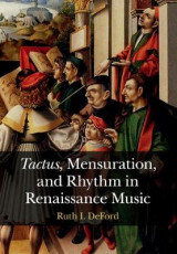 Omslag - Tactus, Mensuration and Rhythm in Renaissance Music