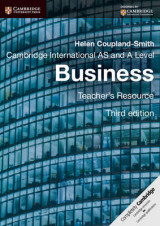 Omslag - Cambridge International AS and A Level Business Teacher's Resource CD-ROM