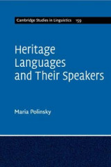 Omslag - Heritage Languages and their Speakers