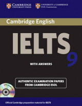 Omslag - Cambridge IELTS 9 Self-study Pack (student's Book with Answers and Audio CDs (2))