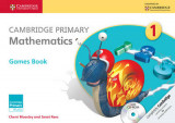 Omslag - Cambridge Primary Mathematics Stage 1 Games Book
