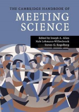 Omslag - The Cambridge Handbook of Meeting Science