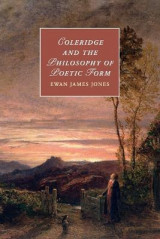 Omslag - Coleridge and the Philosophy of Poetic Form