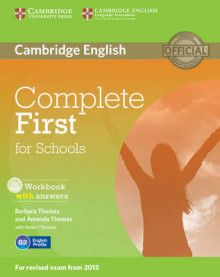 Complete First for Schools Workbook with Answers with Audio CD av Barbara Thomas og Amanda Thomas (Blandet mediaprodukt)