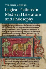 Omslag - Logical Fictions in Medieval Literature and Philosophy