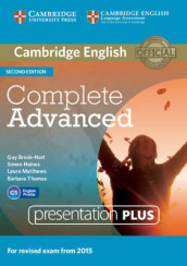 Complete Advanced Presentation Plus DVD-ROM av Guy Brook-Hart og Simon Haines (DVD-ROM)