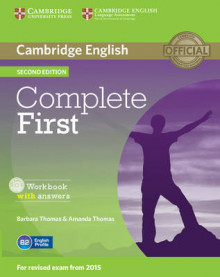 Complete First Workbook with Answers with Audio CD av Barbara Thomas og Amanda Thomas (Blandet mediaprodukt)