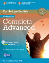 Complete Advanced Student's Book with Answers with CD-ROM av Guy Brook-Hart og Simon Haines (Blandet mediaprodukt)