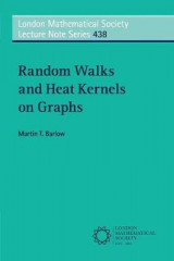 Omslag - Random Walks and Heat Kernels on Graphs