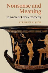 Omslag - Nonsense and Meaning in Ancient Greek Comedy