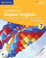 Omslag - Cambridge Global English Stage 7 Coursebook with Audio CD
