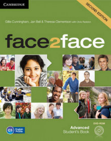 Face2face Advanced Student's Book with DVD-ROM av Gillie Cunningham, Jan Bell, Theresa Clementson og Nicholas Tims (Blandet mediaprodukt)