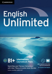 English Unlimited Intermediate Coursebook with e-Portfolio and Online Workbook Pack av Maggie Baigent, Theresa Clementson, Leslie Anne Hendra, David Rea, Nick Robinson og Alex Tilbury (Blandet mediaprodukt)