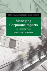 Omslag - Managing Corporate Impacts