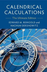Omslag - Calendrical Calculations