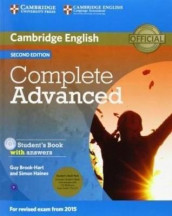 Complete Advanced Student's Book Pack (Student's Book with Answers with CD-ROM and Class Audio CDs (2)) av Guy Brook-Hart og Simon Haines (Blandet mediaprodukt)