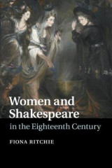 Omslag - Women and Shakespeare in the Eighteenth Century