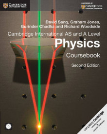 Cambridge International AS and A Level Physics Coursebook av David Sang, Graham Jones, Gurinder Chadha, Richard Woodside, Will Stark og Aidan Gill (Blandet mediaprodukt)
