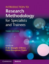 Omslag - Introduction to Research Methodology for Specialists and Trainees