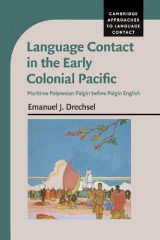 Omslag - Language Contact in the Early Colonial Pacific