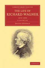 Omslag - The Life of Richard Wagner 4 Volume Paperback Set