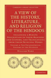 A View of the History, Literature, and Religion of the Hindoos av William Ward (Heftet)