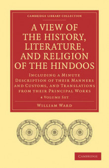 A View of the History, Literature, and Religion of the Hindoos 4 Volume Paperback Set av William Ward (Blandet mediaprodukt)