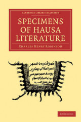 Omslag - Specimens of Hausa Literature