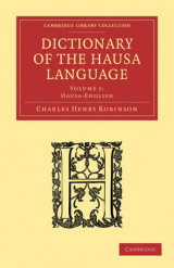 Omslag - Dictionary of the Hausa Language