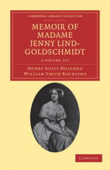 Omslag - Memoir of Madame Jenny Lind-Goldschmidt 2 Volume Set
