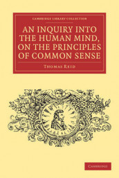 An Inquiry into the Human Mind, on the Principles of Common Sense av Thomas Reid (Heftet)