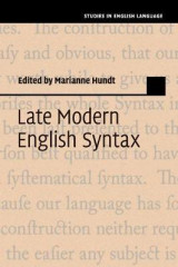 Omslag - Late Modern English Syntax