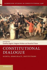 Omslag - Constitutional Dialogue