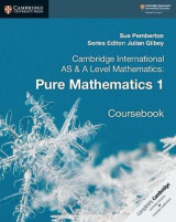 Omslag - Cambridge International AS & A Level Mathematics: Pure Mathematics 1 Coursebook