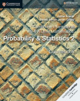 Omslag - Cambridge International AS & A Level Mathematics: Probability & Statistics 2 Coursebook