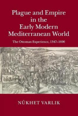 Omslag - Plague and Empire in the Early Modern Mediterranean World