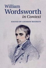 Omslag - William Wordsworth in Context