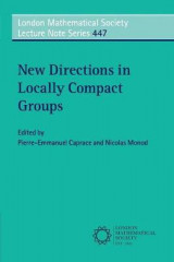 Omslag - New Directions in Locally Compact Groups