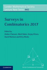 Omslag - Surveys in Combinatorics 2017