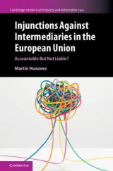 Omslag - Injunctions Against Intermediaries in the European Union