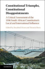 Omslag - Constitutional Triumphs, Constitutional Disappointments