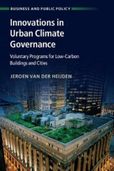 Omslag - Innovations in Urban Climate Governance