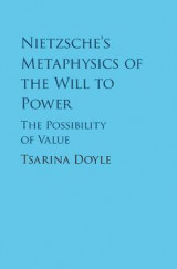 Omslag - Nietzsche's Metaphysics of the Will to Power