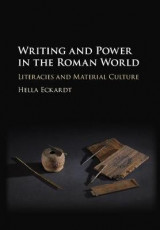 Omslag - Writing and Power in the Roman World